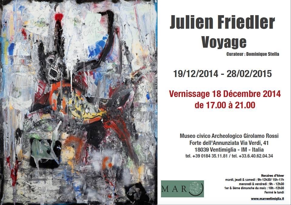 art,exposition,julien friedler