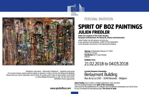 Julien Friedler, Commission européenne, Exposition, artwork, exhibition